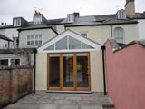 Refurbishment and a single storey rear kitchen extension to a grade II listed house